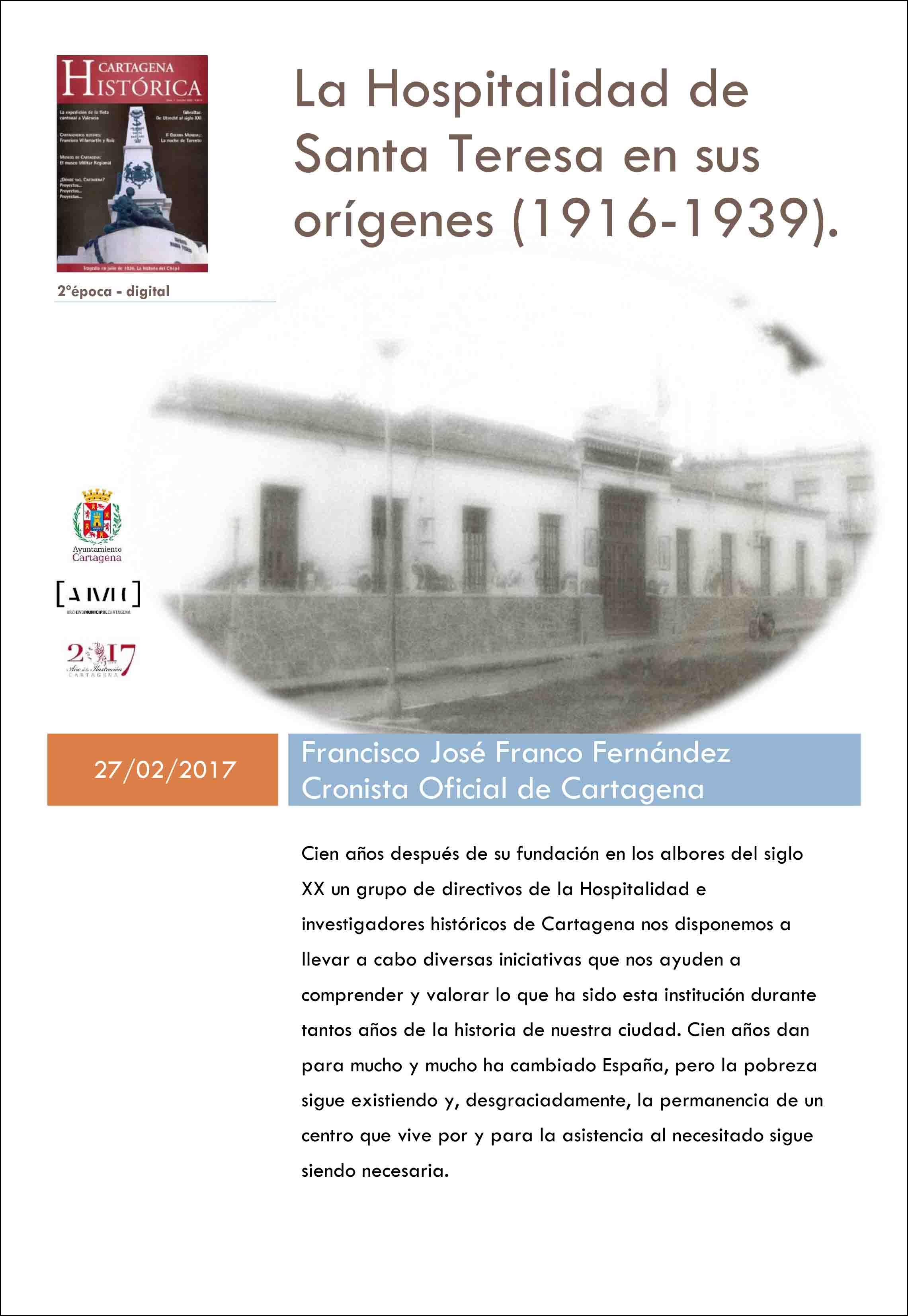 Cartagena Histórica | Publicaciones Electrónicas | Archivo Municipal ...