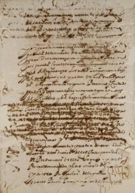 Inicio > Promoción Cultural > Recursos Didácticos > Corsarios en las Costas Cartageneras (siglos XVI y XVII) Documentos y Transcripciones   (CH02283-00014)