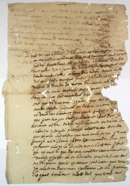 Inicio > Promoción Cultural > Recursos Didácticos > Corsarios en las Costas Cartageneras (siglos XVI y XVII) Documentos y Transcripciones (2ch02290_00021_r)