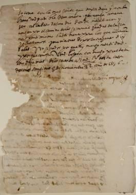 Inicio > Promoción Cultural > Recursos Didácticos > Corsarios en las Costas Cartageneras (siglos XVI y XVII) Documentos y Transcripciones (2ch02290_00021_v)
