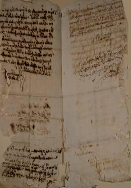 Inicio > Promoción Cultural > Recursos Didácticos > Corsarios en las Costas Cartageneras (siglos XVI y XVII) Documentos y Transcripciones (6ch02287_00012_v)
