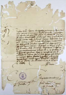 Las Epidemias de Peste en Cartagena > Documentos y Transcripciones (04ch02130_00035)