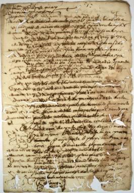 Las Epidemias de Peste en Cartagena > Documentos y Transcripciones (05ch02215_00015)