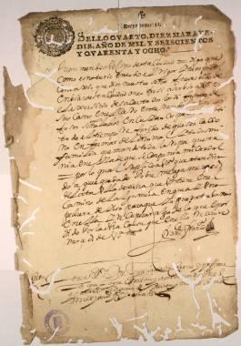 Las Epidemias de Peste en Cartagena > Documentos y Transcripciones (08ch02133_00016)