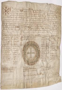 1254, Septiembre, 4. Alfonso X al Concejo de Cartagena, otorgándole término concejil.