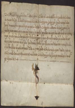 1257 Mayo, 4. Alfonso X al alcaide del castillo de Cartagena, ordenándole que nombre un mampostero para que recaude ante el alcalde de la ciudad.