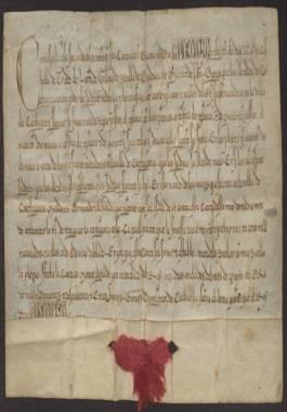 1257 Mayo 19. Alfonso X a la ciudad de Cartagena, para que los alcaldes de la ciudad juzguen los pleitos entre cristianos y moros.