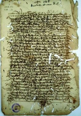 1516, Julio, 11. Copia de una carta real por la que los reyes Doña Juana y Don Carlos dan instrucciones a don Antonio Escobedo sobre la expedición a Berbería