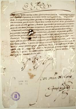 4 Noviembre 1571. Carta real de Felipe II al Concejo de Cartagena notificándole el envío de nuevas órdenes y franquicias para la repoblación del Reino de Granada, y ordenándole que sea diligente en su publicación.