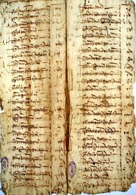 1505. Padrón del último tercio de la derrama hecha para ayudar a la expedición de conquista de Mazalquivir.
