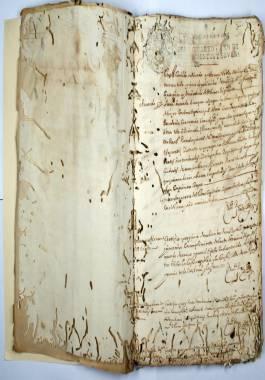 1695-1699. Expediente de las obras y reparaciones que se deben hacer en el muelle principal, Ayuntamiento, pescadería, carnicería, cárcel pública y murallas.