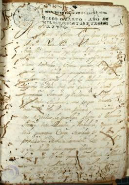 Informe hecho a petición de D. Juan Bautista Tacón, procurador síndico, sobre la pobreza de los vecinos de Cartagena.