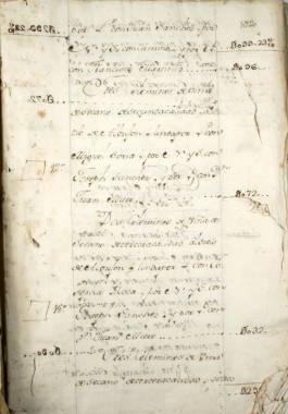 1756. Padrón de vecinos de Cartagena que poseen bienes raíces efectuado por orden del Marqués de la Ensenada.